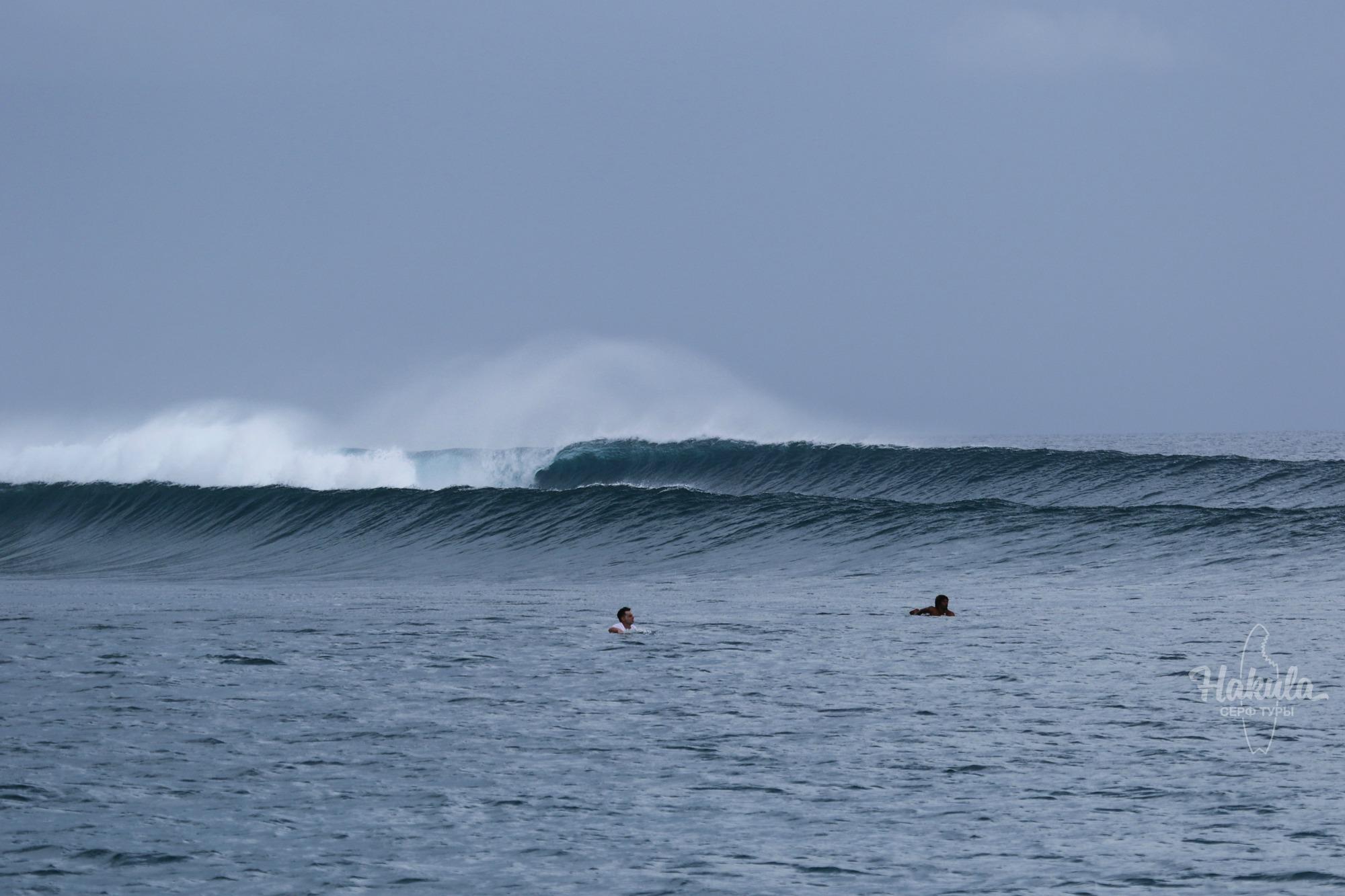 серфинг на Мальдивах