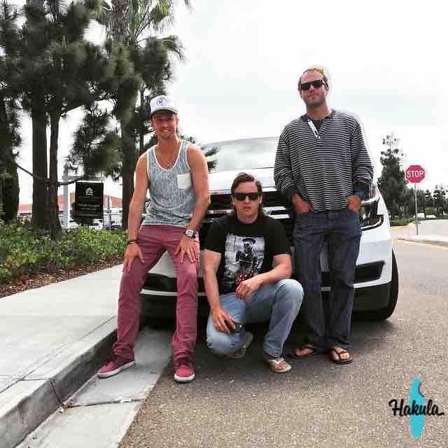 наша серф банда в Калифорнии
