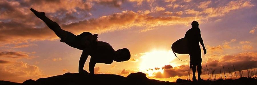 сила в йоге и серфинге