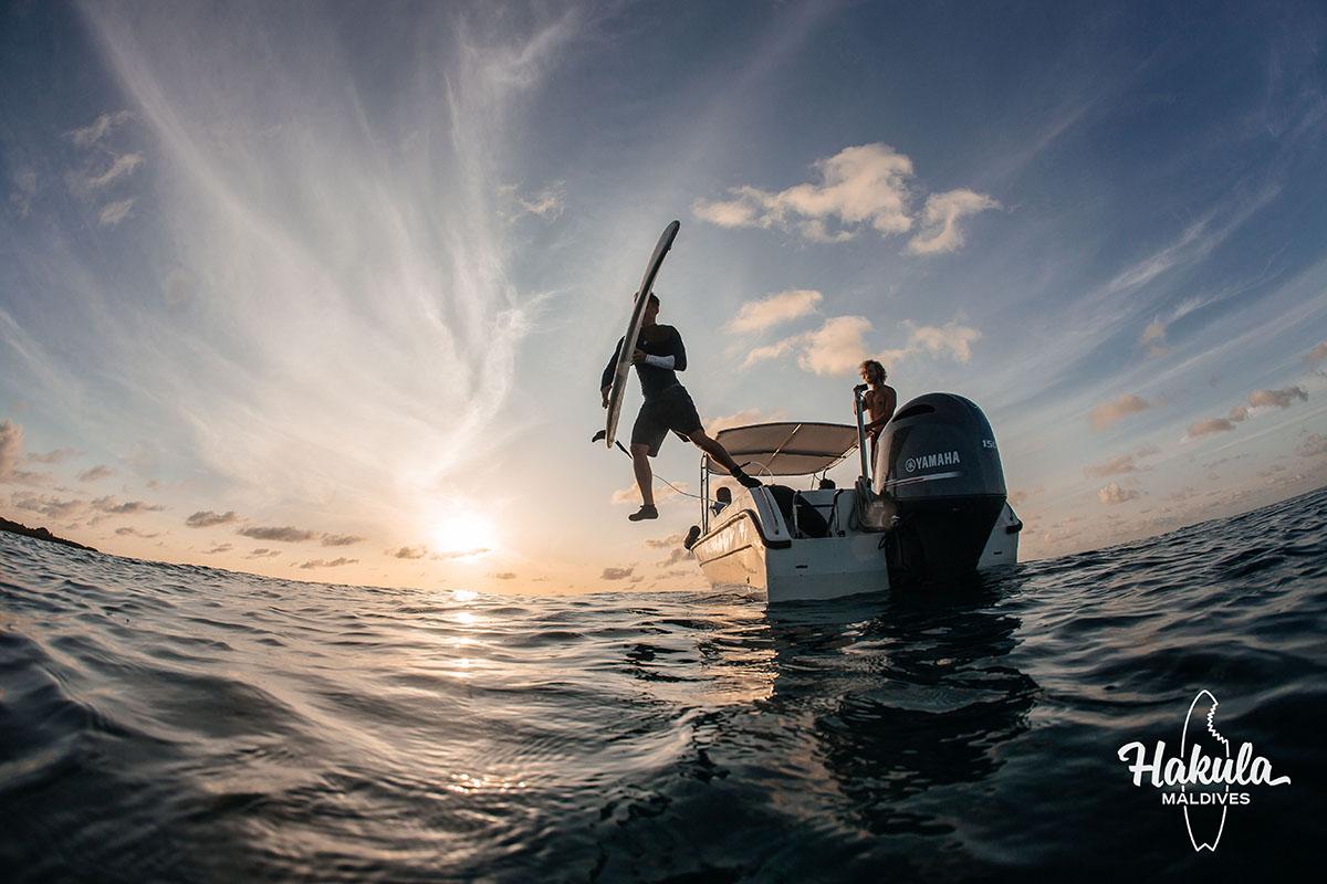 Сёрф-кэмп на Мальдивах, осень 2019