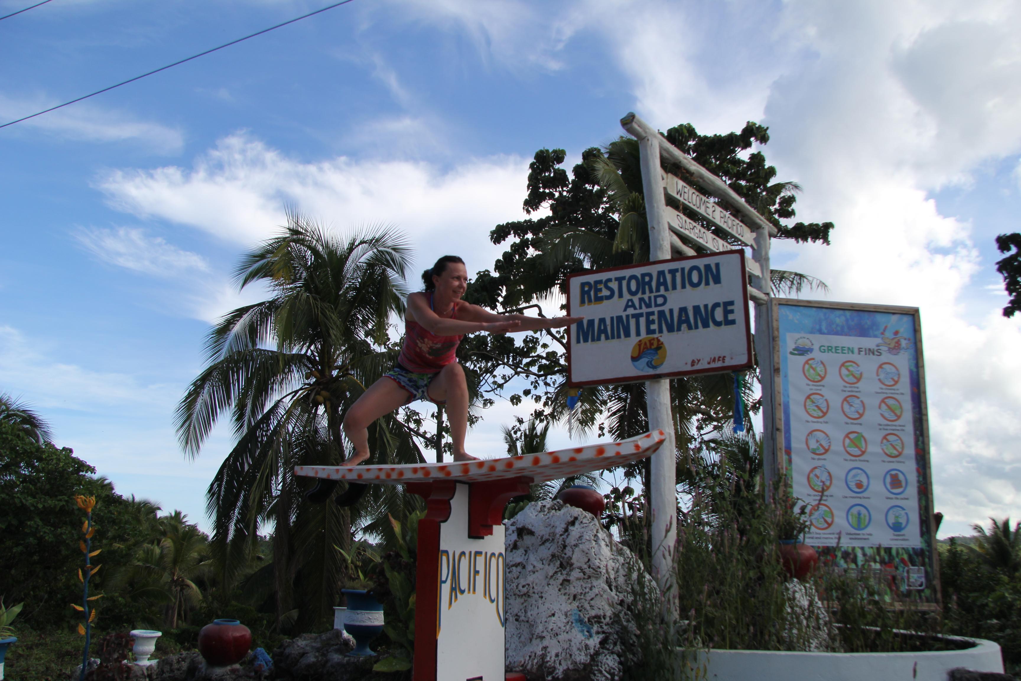 серф кэмп Сиаргао Филиппины