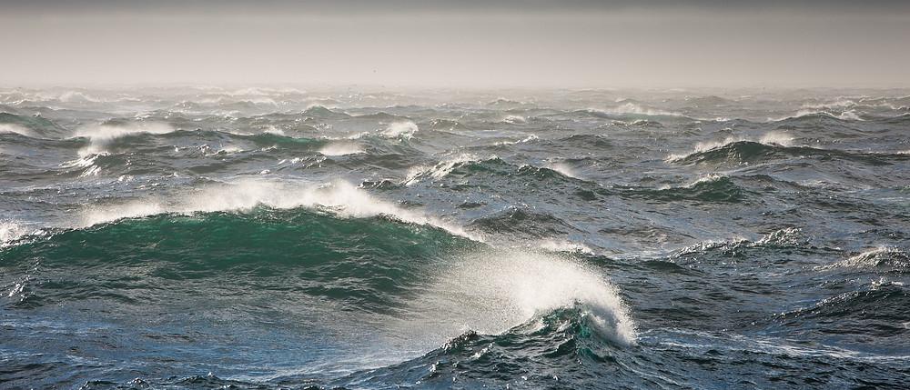Бурлящий суп совсем не похож на волны для серфинга