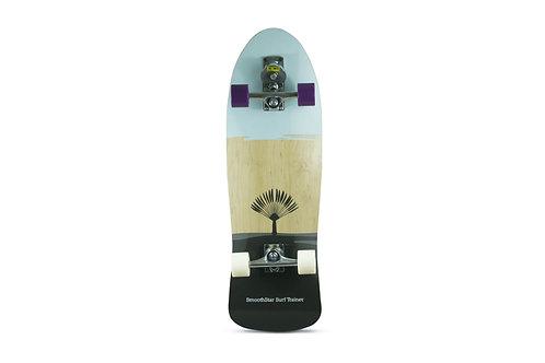 "Сёрф-скейт SmoothStar Johanne Defay Pro Model 32.5"" (Голубой/серый)"