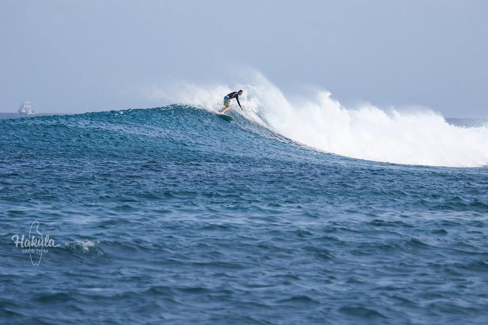 спот Ninjas, Мальдивы