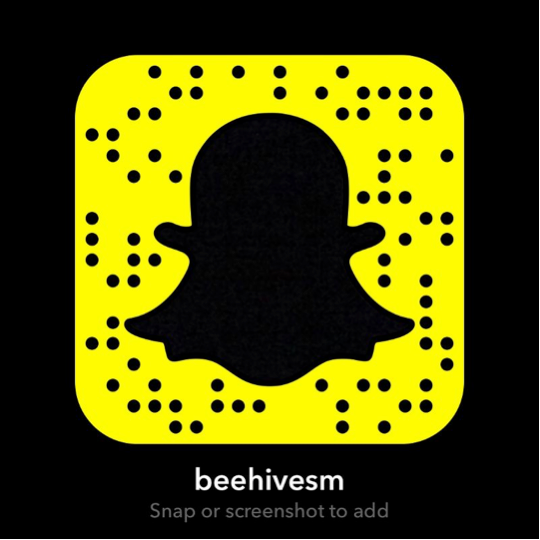 Add Beehive on Snapchat here!