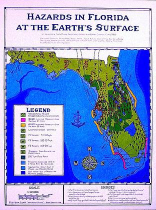 Hazards In Florida Poster