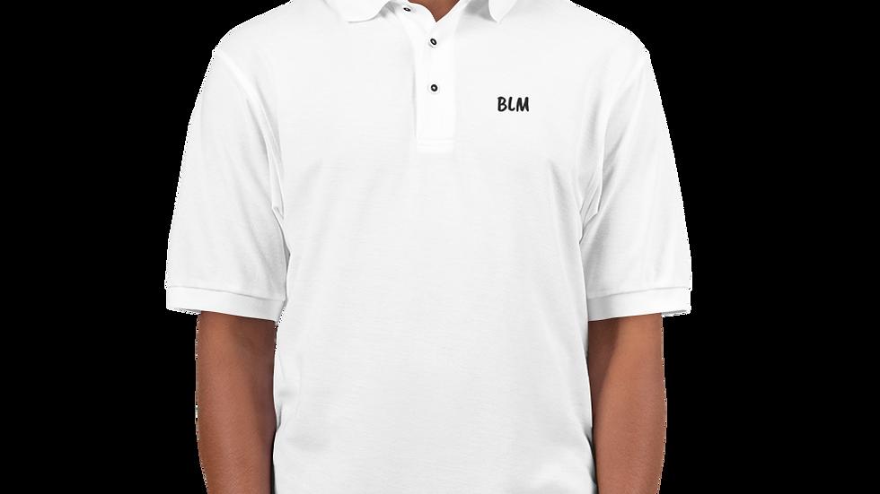 Men's Premium BLM Polo