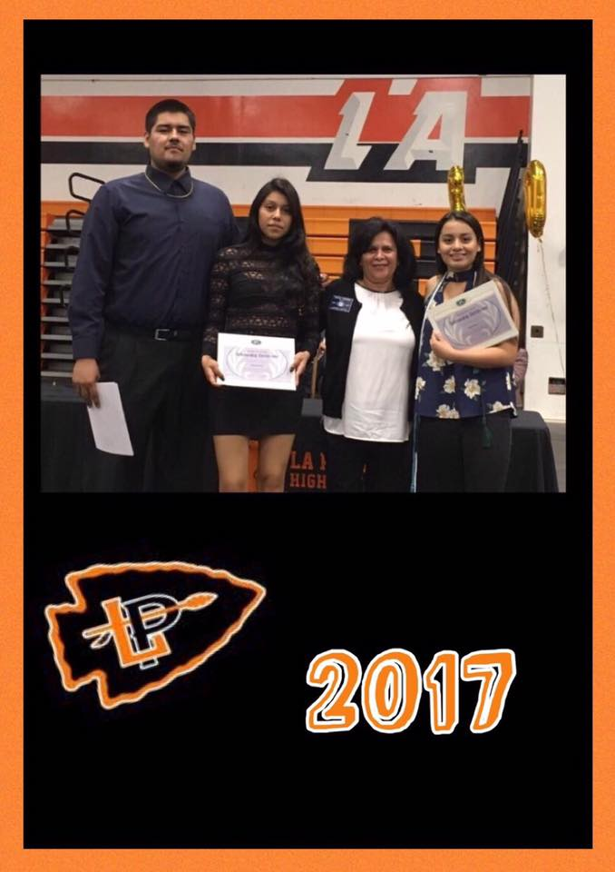5.19.17 LPHS Scholarship Recipients