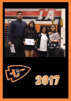 5.19.17 LPHS Scholarship Recipients