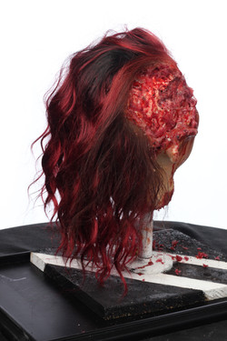 Silicon severed Head 5