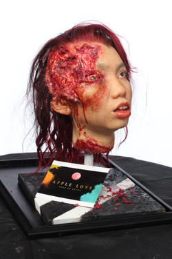 Silicon severed Head 4