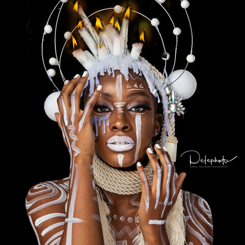 the dripping candle queen