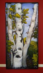 Birch Tree (Commission)