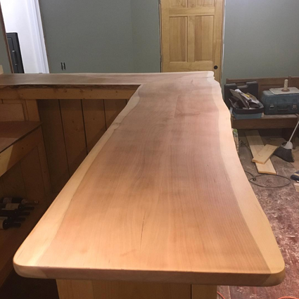 Black Cherry bar top