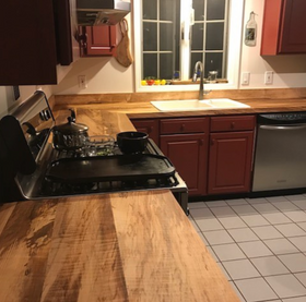 Spalted Maple countertops