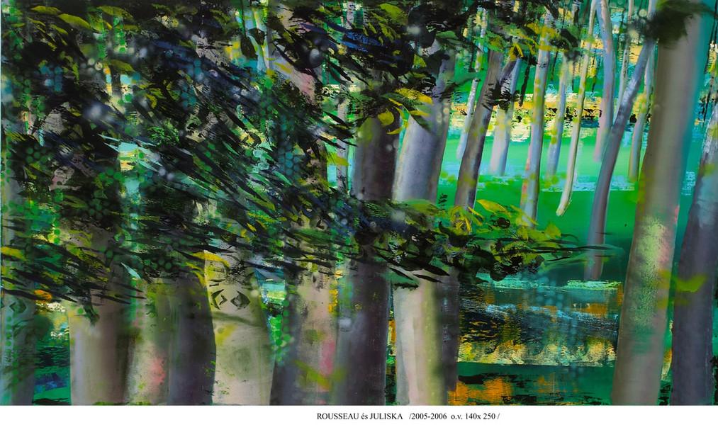 Homage to Henri  Rousseaunak/Tisztás/forest seria /