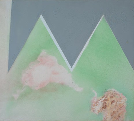 Dymaxion composition 4/Marble & clouds