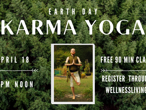 Celebrate Mother Earth with a free community class!