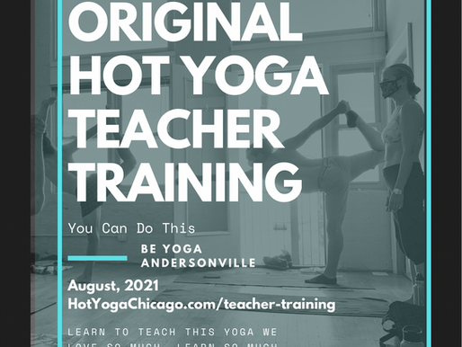 Original Hot Yoga Teacher Training!