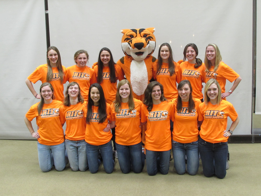 Tigers for Tigers college students at Rochester Institute of Technology