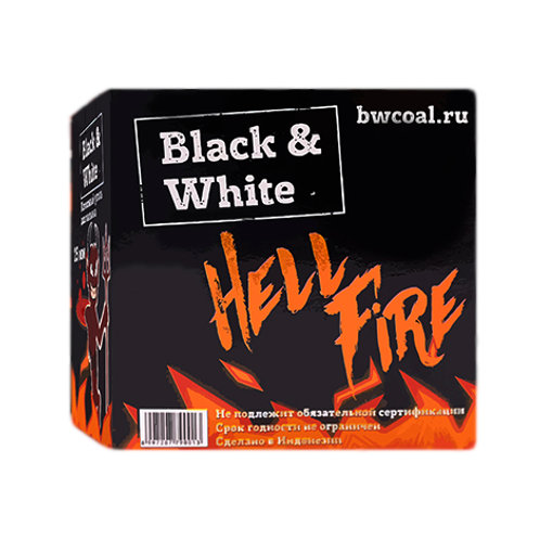 Уголь Black & White 18 шт (22мм) Хорека