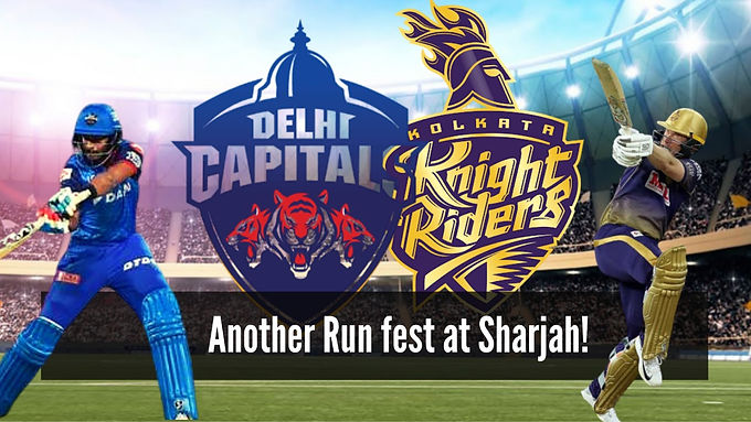 KKR vs DC: Another run fest in Sharjah