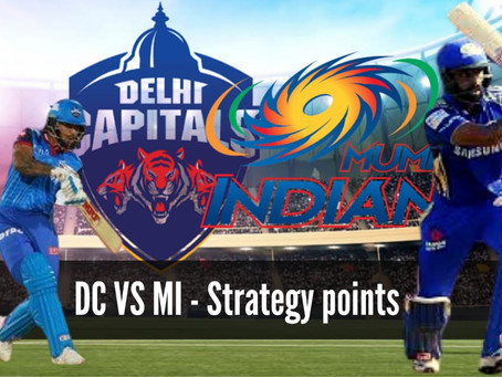 DC vs MI : Strategy Points