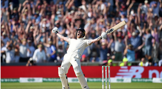 BEN STOKES – Stoked up all the way!!