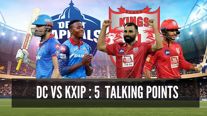 Kings XI Punjab vs Delhi Capitals : 5 Talking Points !!!