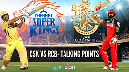 RCB vs CSK: Finally, the men in yellow sparkle