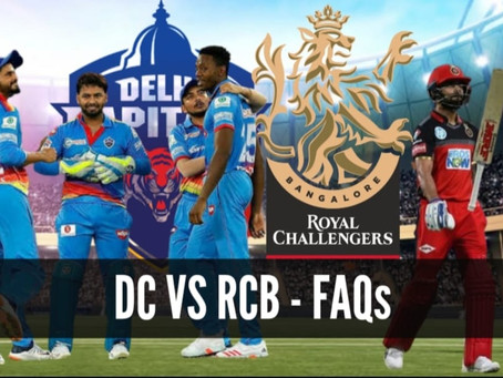 Delhi Capitals vs Royal Challengers Bangalore: FAQs