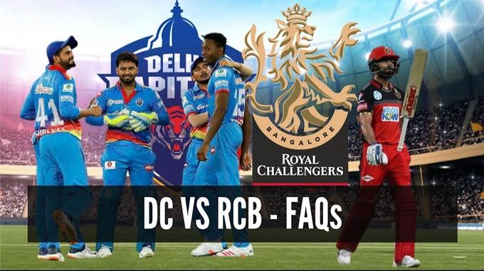 Delhi Capitals vs Royal Challengers Bangalore: FAQs