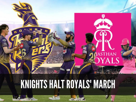 Knights Halt Royals March