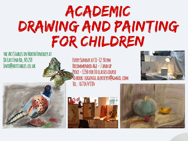 Academic Drawing & Painting - Spring