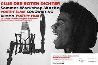 """Sommer-Workshop """"Club der roten Dichter*innen"""""""