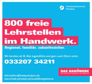 Beratungshotline der Handwerkskammer Potsdam