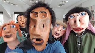 """Maskenprojekt des WII-Kurses """"Darstellendes Spiel"""""""