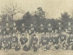 Slater-Marietta High School's First Football Team, 1946