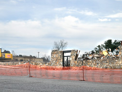 Old Ingles Building Comes Down In TR