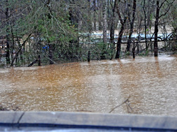 Northern Greenville County Road Closures Due To Flooding
