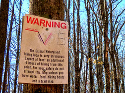 Hiker Rescued From Dismal Trail