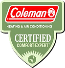 coleman heating and air conditioning cer