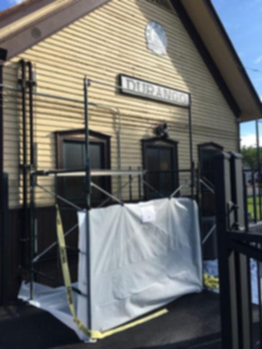 Rocky Top paints Durango Silverton Train Buildings
