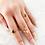 Thumbnail: Drop Druzy Agate Adjustable Ring