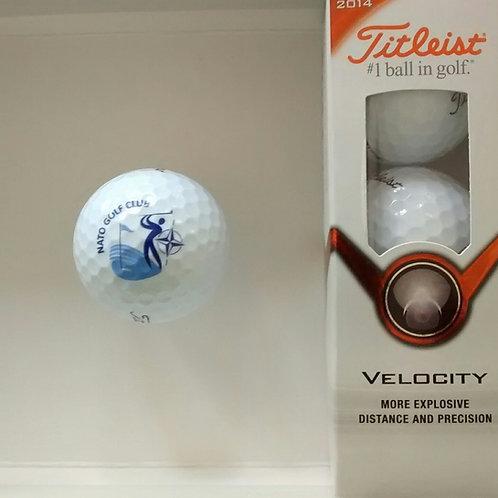 Logo Golf Balls, Set of 3