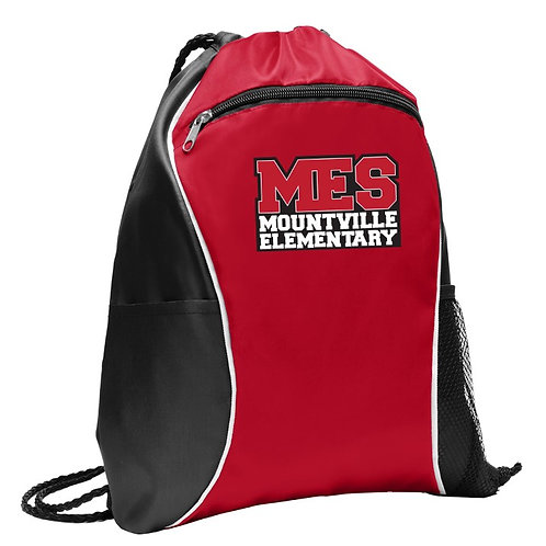 Mountville Elementary Cinch Pack with optional customization