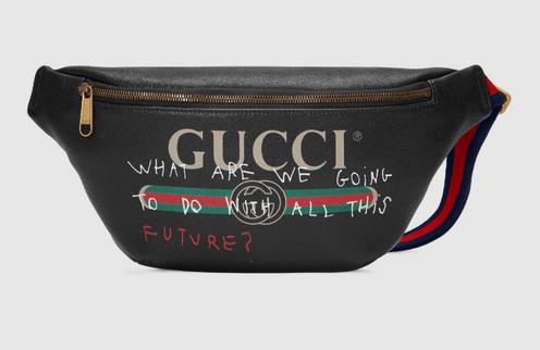 f7173aeee5fe Для осенней зимы 2017 года художник Coco Capitán сотрудничал с Gucci в  специальном ассортименте аксессуаров и готовых к употреблению, в которых  представлены ...