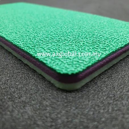 Advantage of badminton court mat