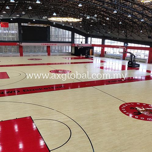 Indoor Basketball Court Flooring - Hardwood System [Certified by FIBA]