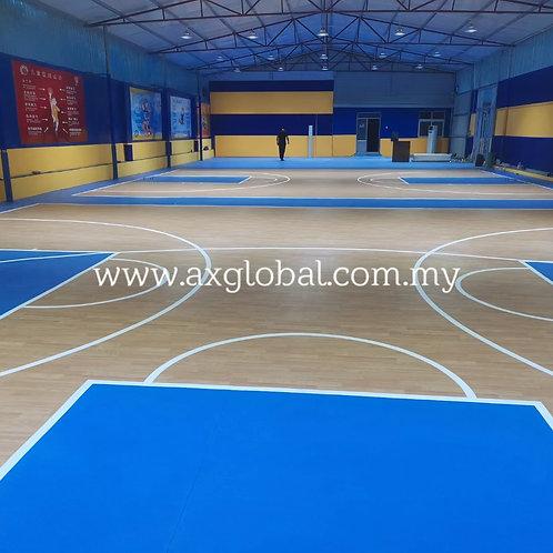 Basketball Vinyl Flooring